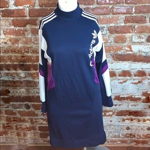 Adidas High Neck Trefoil Dress US12